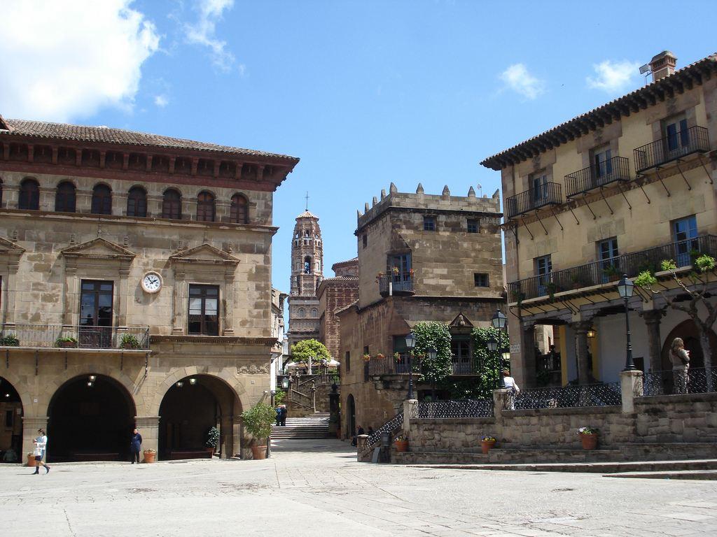Вид на Испанскую деревню