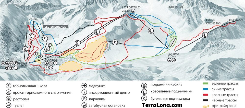 Карта Вальнорд.