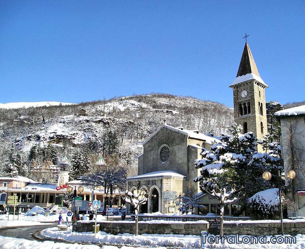 Андорра - погода зимой.