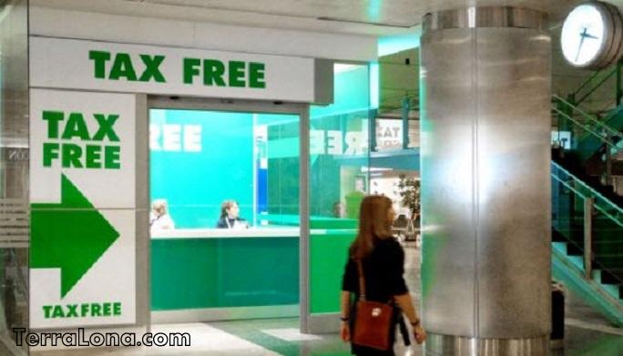 Tax Free в аэропорту Барселоны.