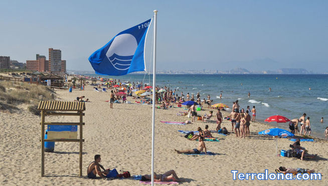 Пляжи Испании с Голубым флагом