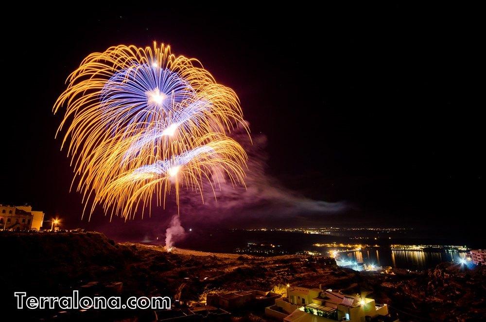 Фестиваль фейерверков в Бланес