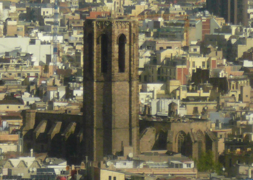 Santa Maria del Pi башня