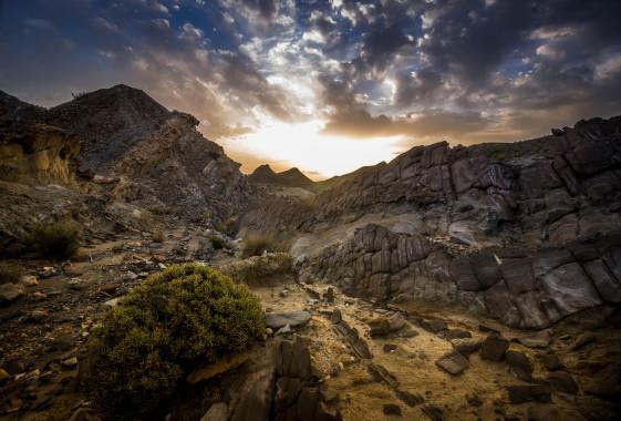 Пустыня Тебернас Андалусия Испания
