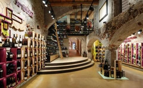 Винный магазин в Андалусии