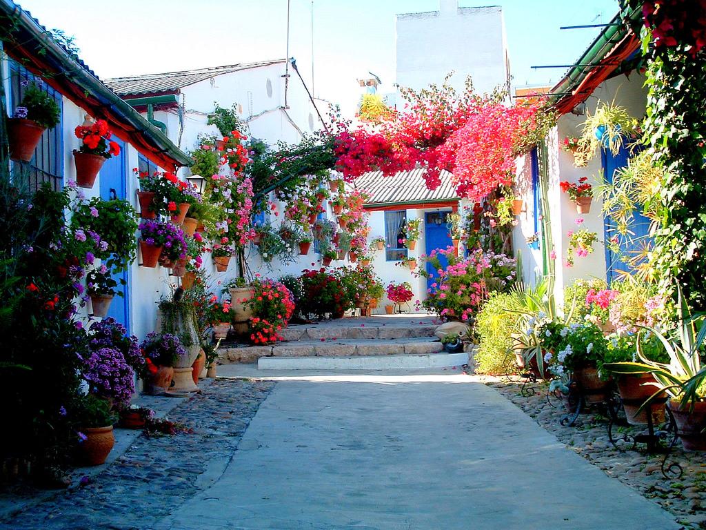 Цветочные дворики в Кордове
