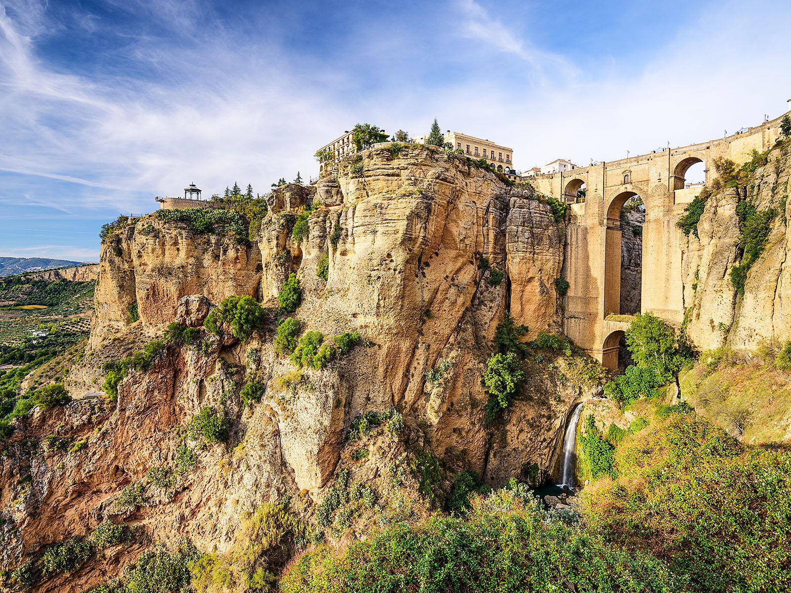 Ронда Андалусия Каменный мост