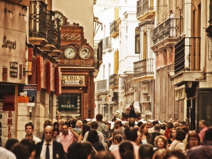 улица Сьерпес, Севилья, Андалусия
