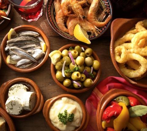 Популярные ингредиенты Андалузской кухни