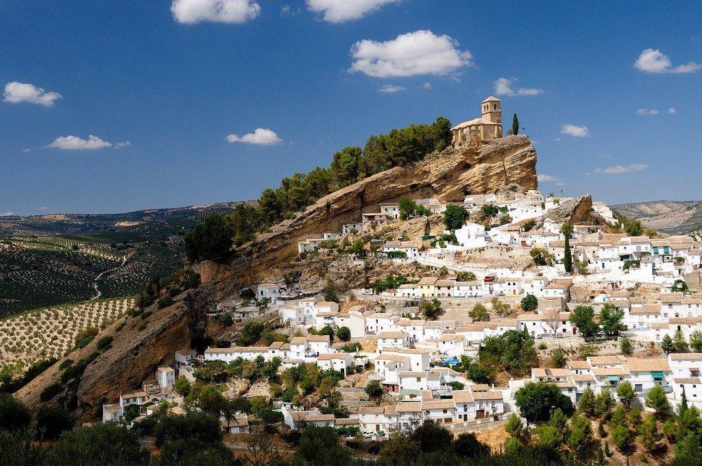 Живописные виды Андалусии