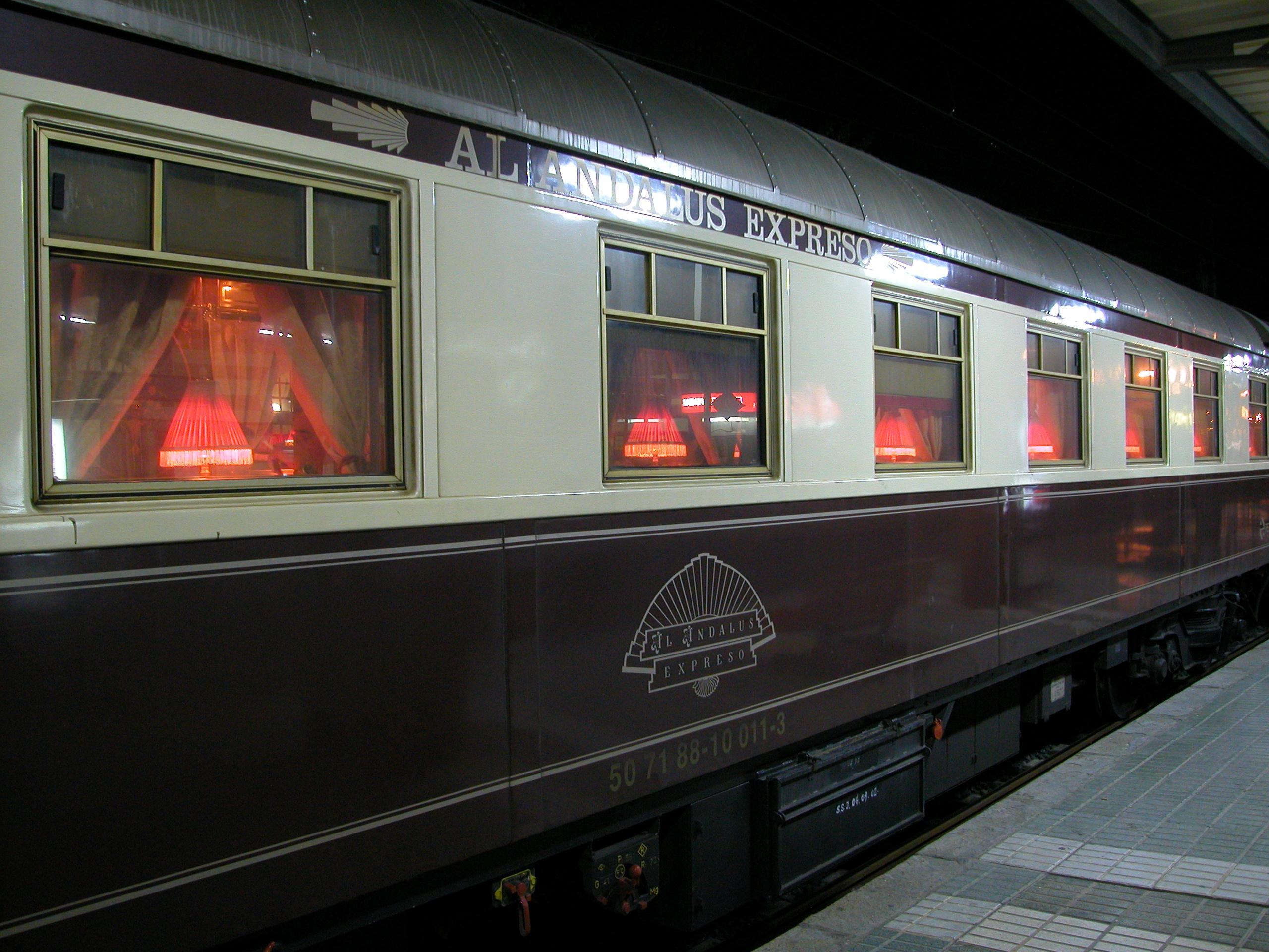Поезд-отель Al-Andalus ждет любителей комфортных путешествий