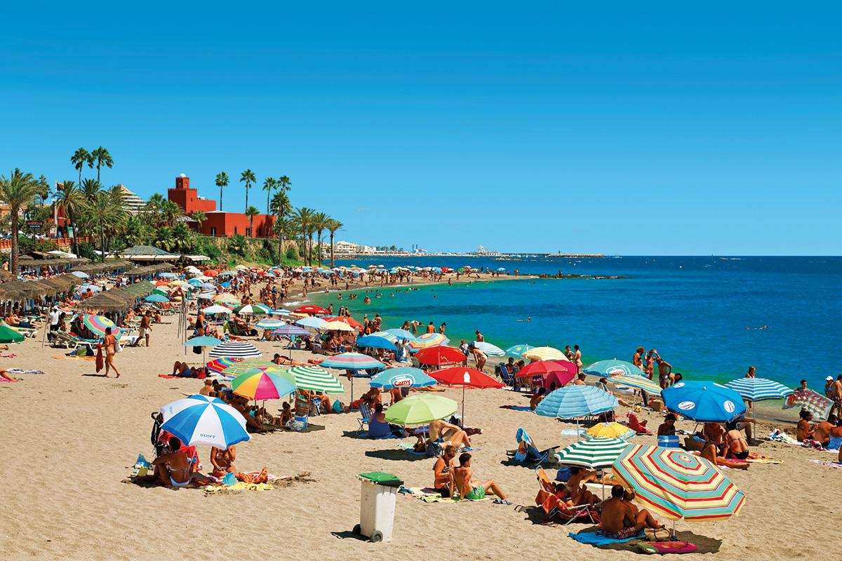 Андалусия (Испания) Курорт Коста-Дель-Соль