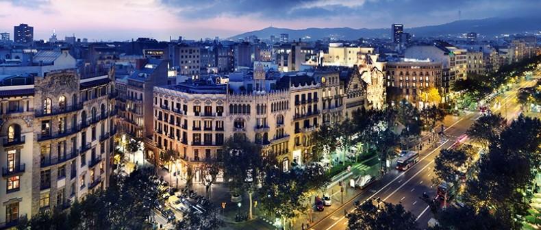 Уникальный район Барселоны Эшампле