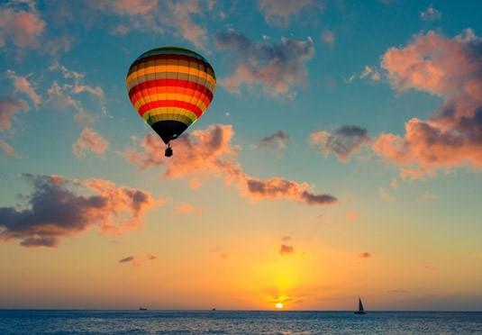 Экскурсия на воздушном шаре в Барселоне